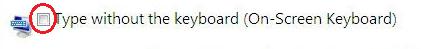 Ekran klavyesi