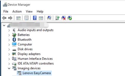 Camera not working in Windows 8.1