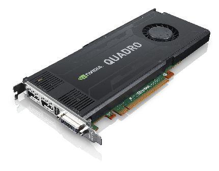 Placa gráfica NVIDIA Quadro K4000 de 3 GB